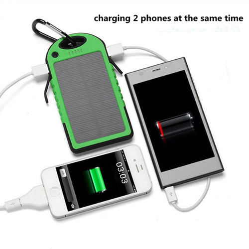 5000mAh Solar Charger Power Bank Image 8