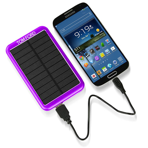 5000 mAh Solar Mobile Charger