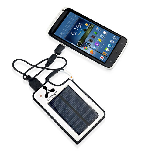 Carabiner Emergency Solar Power Bank