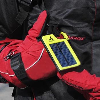 Carabiner Emergency Solar Power Bank