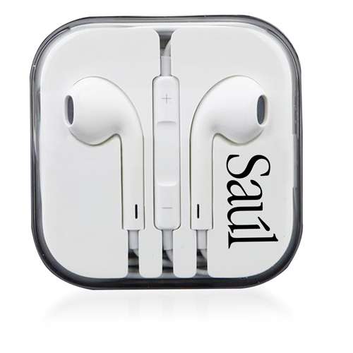 Stereo Earpod With Mic Volume Control