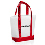 Non Woven Tote Bag With Metallic Trim