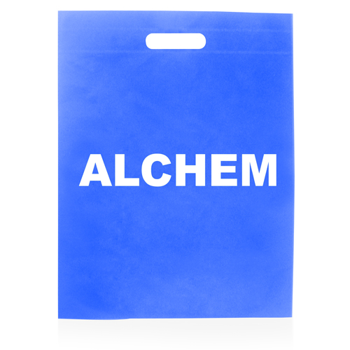 Flat Non-Woven Die-Cut Bag Image 1