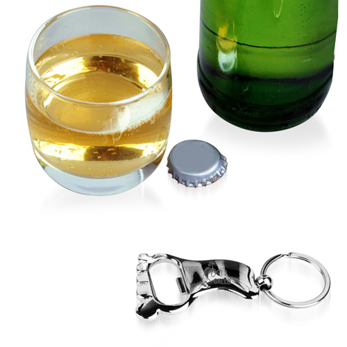 Metal Feet Bottle Opener Keychain