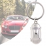 Metal Car Shaped Keychain Image 1