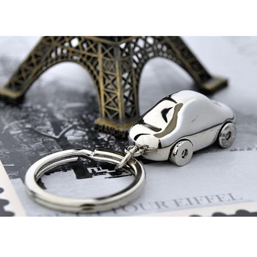 Metal Car Shaped Keychain