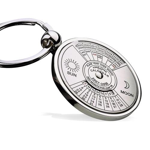 Unique Perpetual Calendar Keychain Image 1