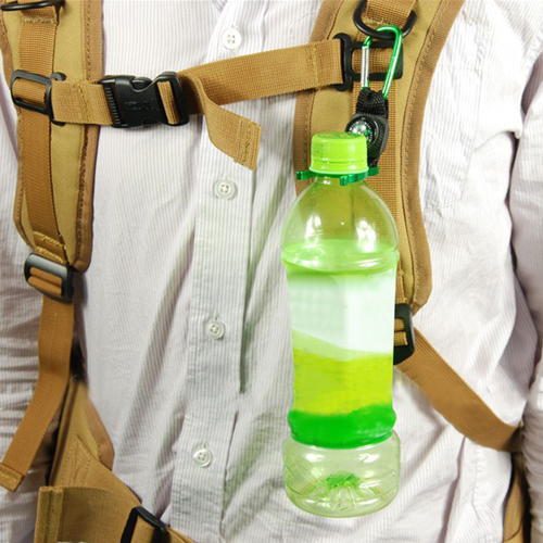 Bottle Holder Carabiner With Compass Image 10