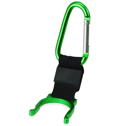 Bottle Holder Carabiner With Compass Image 1