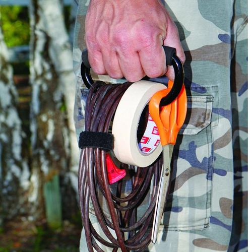 Foam Grip D-Shape Carabiner Hook