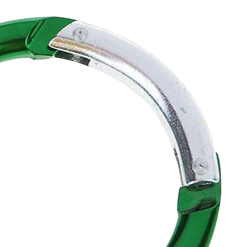 Round Shaped Carabiner Keyring