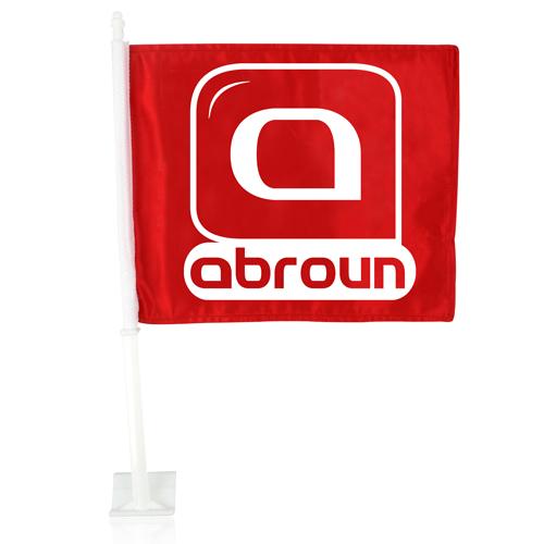 Custom Car Window Flag Image 1