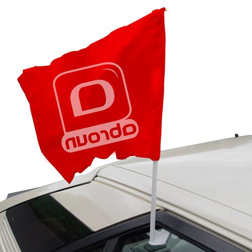 Custom Car Window Flag Image 2