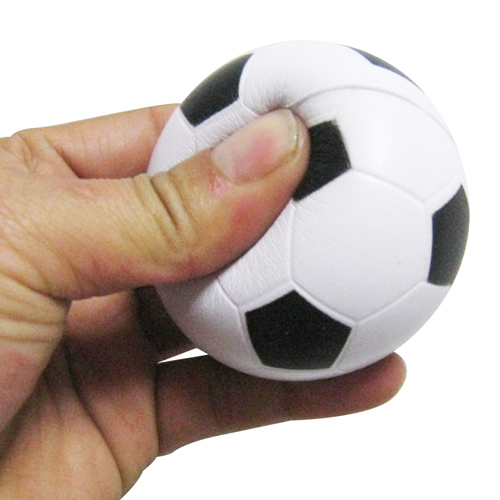 Squeeze Soccer Ball Stress Reliever Image 3