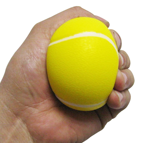 Tennis Ball Shaped Stress Reliever Image 2