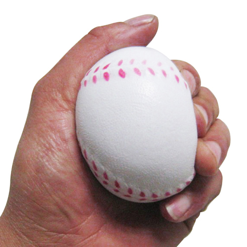 Baseball Shaped Stress Ball Image 3