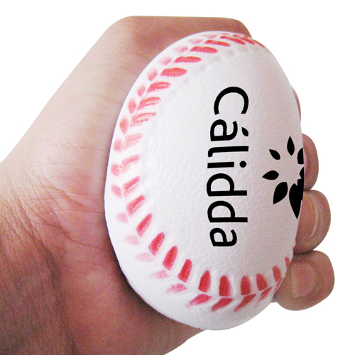 Baseball Shaped Stress Ball Image 4
