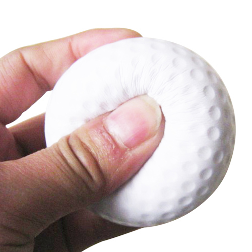 Golf Ball Shaped Stress Reliever Image 2
