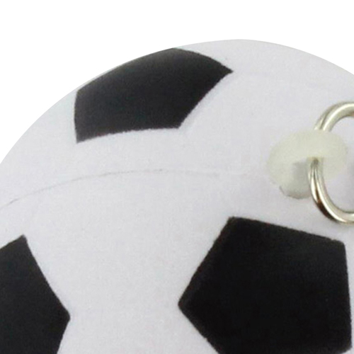Football Shaped Stress Ball Keychain Image 10