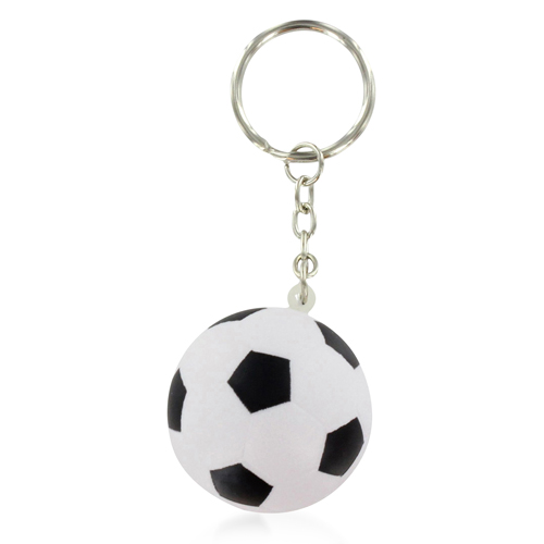 Football Shaped Stress Ball Keychain Image 7