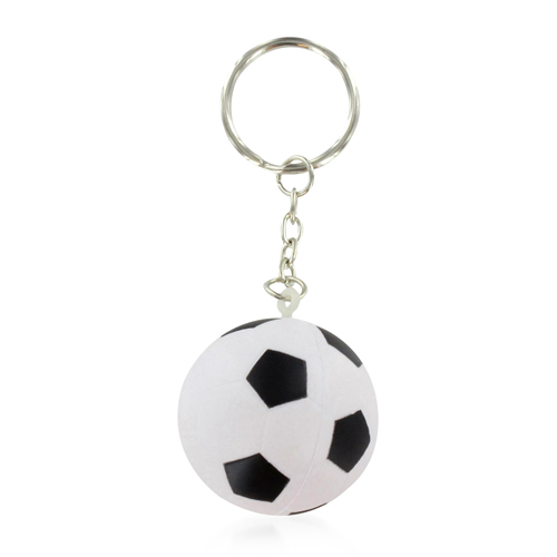 Football Shaped Stress Ball Keychain Image 8