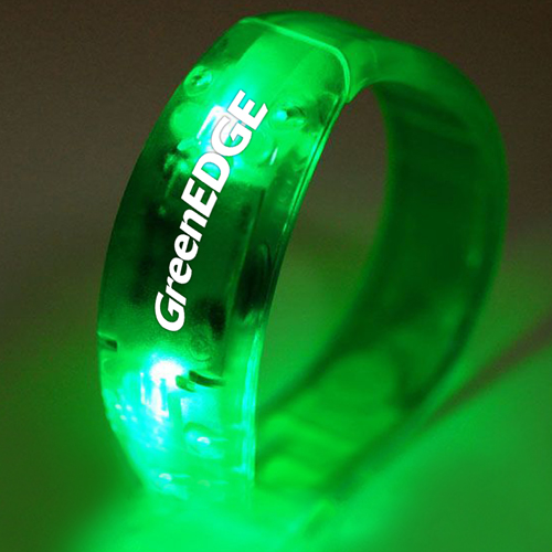 Voice Control Flashing LED Bracelet