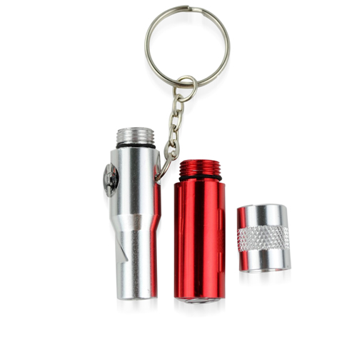 4 In 1 Compass Whistle Key Ring Image 2