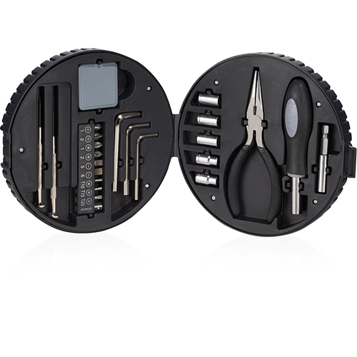 24 Piece Tire Shaped Tool Kit Image 4