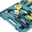 15 Piece Household Hardware Tool Set Image 1