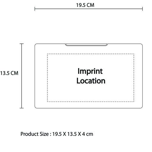 12 Piece Portable Maintenance Tool Kit Imprint Image
