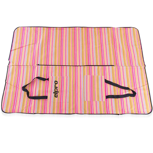 Elegant Satchel-Style Picnic Mat Tote Bag Image 2