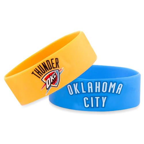 Wide Silicone Wrist Band