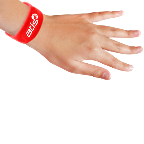 Wide Silicone Wrist Band Image 7