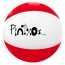 16 Inch PVC Inflatable Beach Ball Image 1