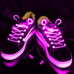 Pair Of LED Flashing Shoe Laces
