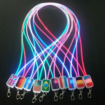 Lighting LED Lanyard Badge Holder