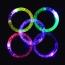 Light-Up Acrylic Flashing Bracelet