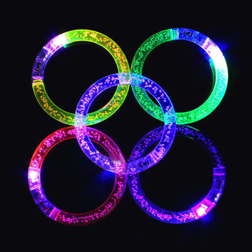 Light-Up Acrylic Flashing Bracelet Image 4