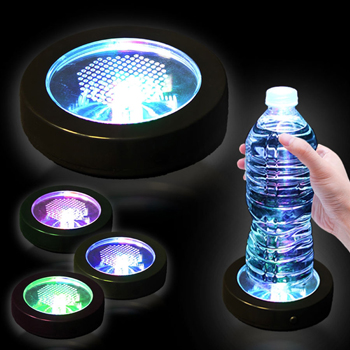 Round Glow LED Light Coaster
