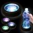 Round Glow LED Light Coaster