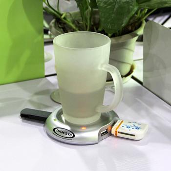 4 Port USB Hub Cup Electric Warmer