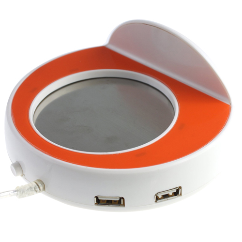 Cup Warmer With 4-Port USB Hub Image 2