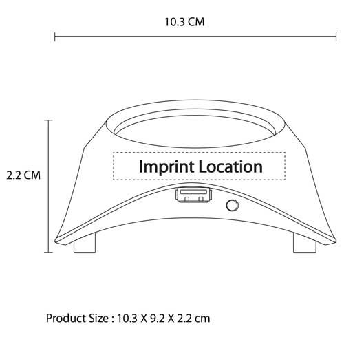 Insulation Coaster USB Hub
