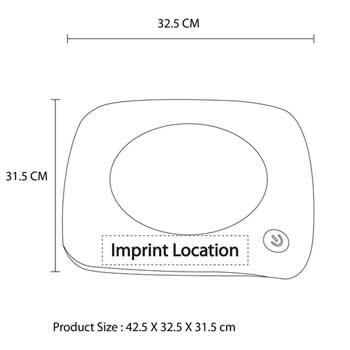 3 USB Hub Insulation Mug Warmer
