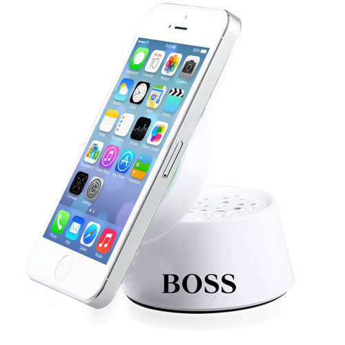 Mini Foldable Speaker With Suction Cup