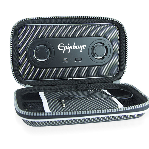Rechargeable Phone Pouch With Speaker Image 1
