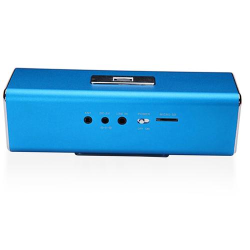 Portable Rectangular Speaker With FM Radio