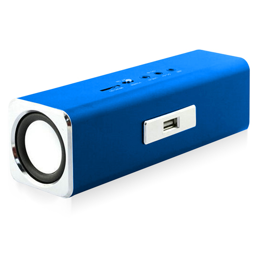 Portable Rectangular Speaker With FM Radio