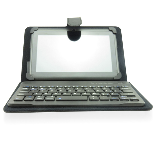 Wireless Keyboard Leather Case For Tablet