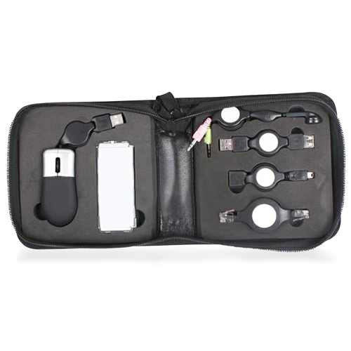 6 Piece USB Travel Kit Image 1